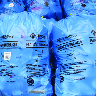 Image of Blue Bags